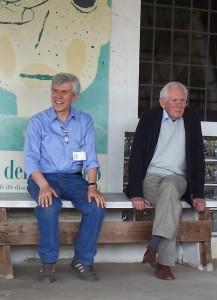 Aldo Pallotti e Mario Lodi - maggio 2007
