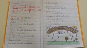 —Dalla scuola primaria di Strambino (TO) una fotografia scattata lunedì 15 novembre alle ore 10